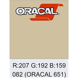 Oracal 651 Beige