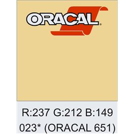 Oracal 651 Cream