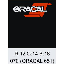 Oracal 651 Black