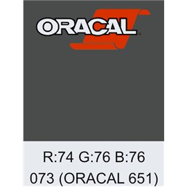 Oracal 651 Dark Grey
