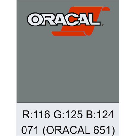 Oracal 651 Grey