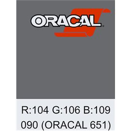 Oracal 651 Silver Grey