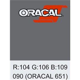 Oracal 651 Silver Grey