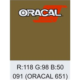 Oracal 651 Gold