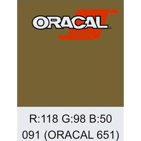Oracal 651 Gold