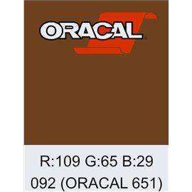 Oracal 651 Copper