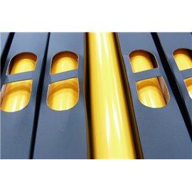 Lamina Foil Neon Amarillo oscuro n78
