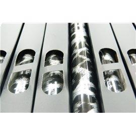 Lamina Foil Leopardo Plata n94