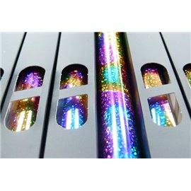 Lamina Foil Galaxy Multi Ripples n117