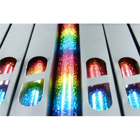 Lamina Foil Galaxy Multi Stripes n120