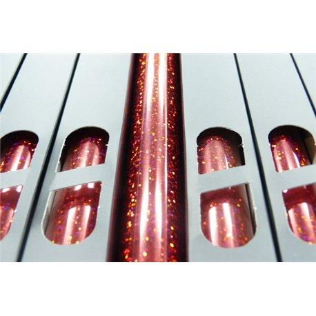 Lamina Foil Galaxy Red n155