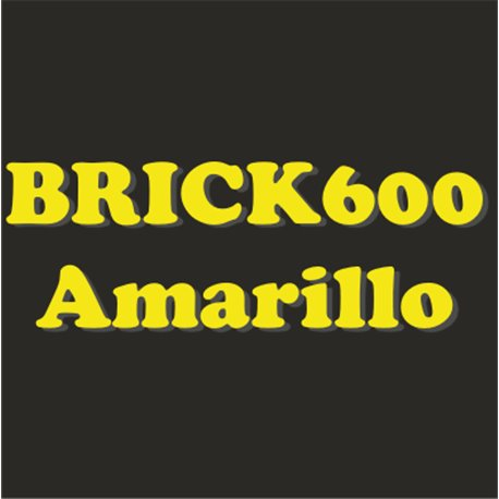 Siser Brick 600 Amarillo