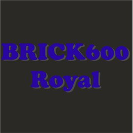 Siser Brick 600 azul royal
