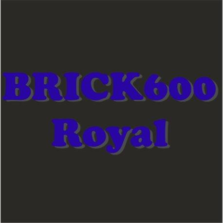 Siser Brick 600 azul royal