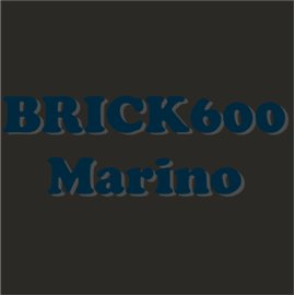 Siser Brick 600 azul marino