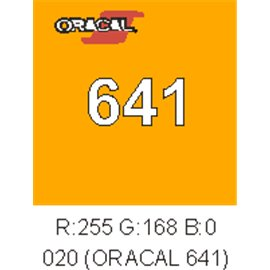 Oracal 641 Amarillo Golden 020