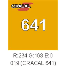 Oracal 641 Amarillo Signal 019