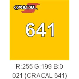 Oracal 641 Amarillo 021