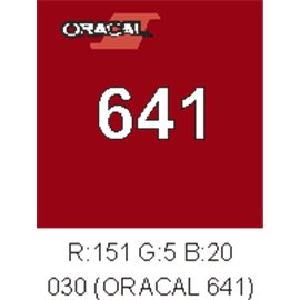 Oracal 641 Dark Red 030