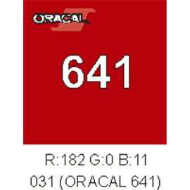 Oracal 641 Red 031