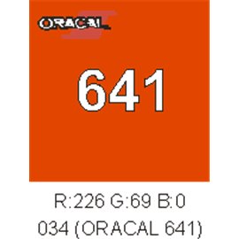 Oracal 641 Orange 034