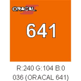 Oracal 641 Light Orange 036