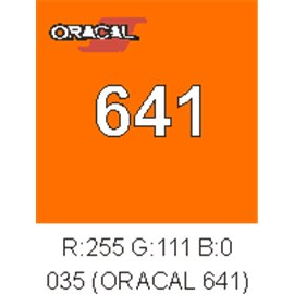 Oracal 641 Pastel Orange 035