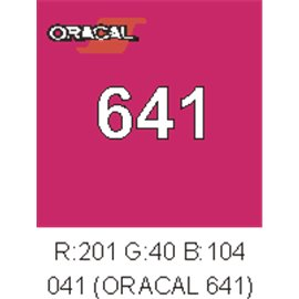 Oracal 641 Pink 041