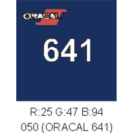 Oracal 641 Dark Blue 050