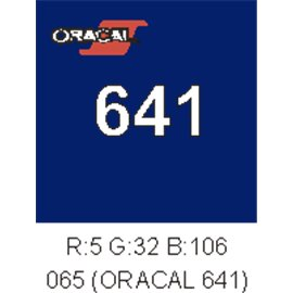 Oracal 641 King blue 049