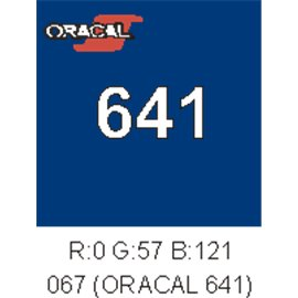 Oracal 641 Blue 067