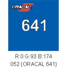 Oracal 641 Azure Blue 052