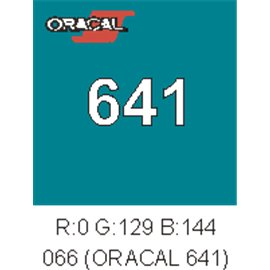 Oracal 641 Turquoise Blue 066
