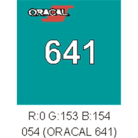 Oracal 641 Turquoise 054