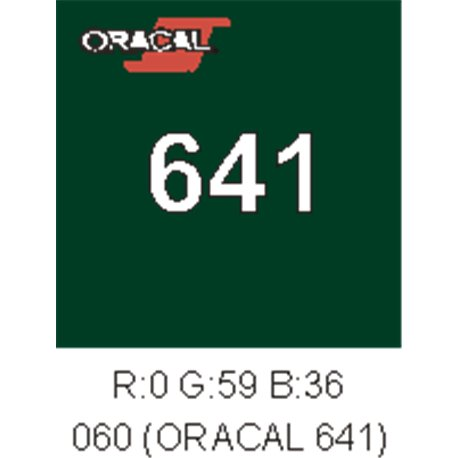 Oracal 641 Dark Green 060