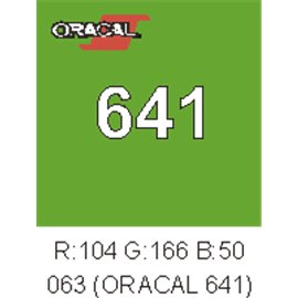 Oracal 641 Lime Tree Green 063