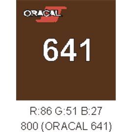 Oracal 641 Marrón Nougat 800