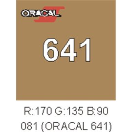 Oracal 641 Marrón Nut 083
