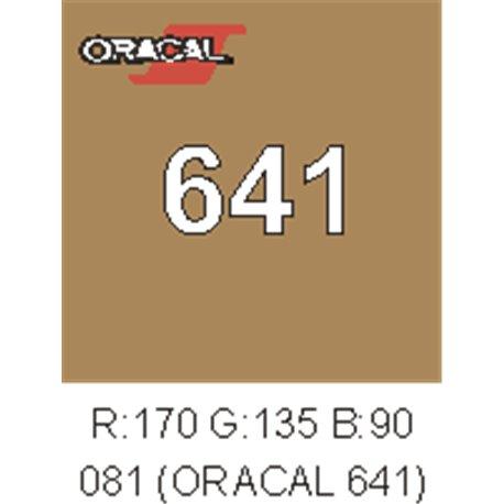 Oracal 641 Marrón Nut 083