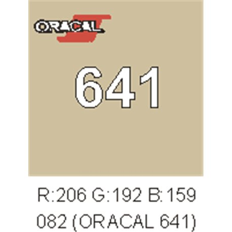 Oracal 641 Beige 082