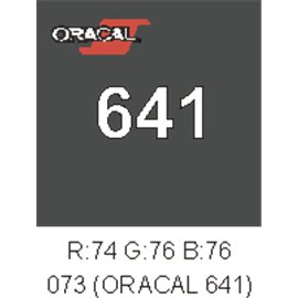 Oracal 641 Dark Grey 073