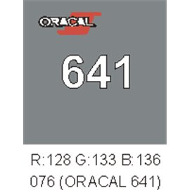 Oracal 641 Telegrey 076