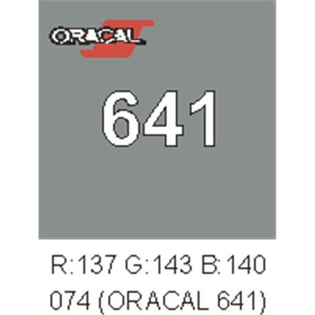 Oracal 641 Middle grey 074