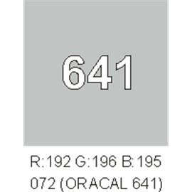 Oracal 641 Light Grey 072
