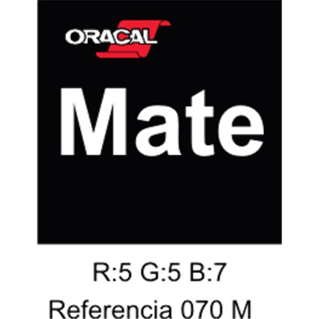 Oracal 631 Negro 070 MATE