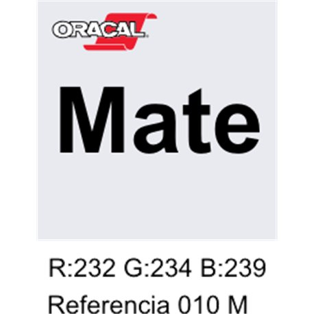 Oracal 631 Blanco 010 MATE