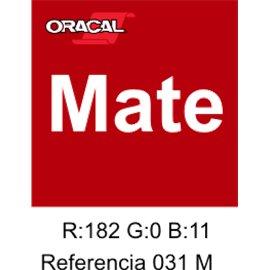Oracal 631 Rojo 032 MATE