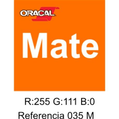 Oracal 631 Pastel Orange 035 MATE