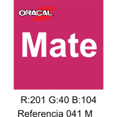 Oracal 631 Pink 041 MATE