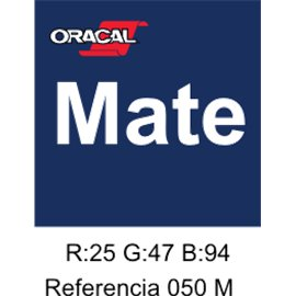 Oracal 631 Dark Blue 050 MATE